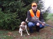 My sons first grouse.