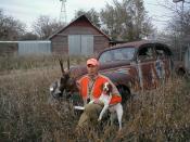 I hate deer hunting!