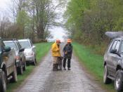 A rainy training day