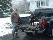Only snow hunt of the year